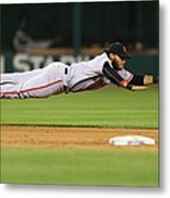 San Francisco Giants V St. Louis 2 Metal Print