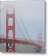 San Francisco - Golden Gate Bridge  Metal Print