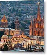 San Miguel De Allende, Mexico Metal Print