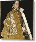 Sanchez Coello, Alonso 1531-1588 Metal Print by Everett