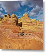 Sandstone Vermillion Cliffs N Metal Print