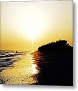 Amazing Sanibel Sunset Metal Print