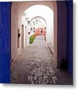 Santa Catalina Monastery Arequipa Peru Metal Print