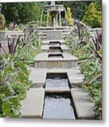 Sarah Lee Baker Perennial Garden 3 Metal Print