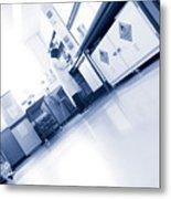 Scientist Working In A Laboratory Metal Print