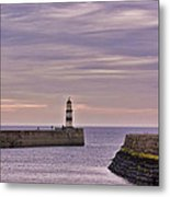 Seaham Harbour Metal Print