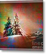 Season's Greetings Metal Print