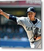 Seattle Mariners V San Diego Padres Metal Print