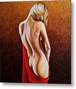 Secrets Of The Red Veil Metal Print