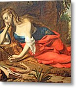 Seghers' The Repentant Magdalen Metal Print
