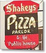 Shakey's Pizza Metal Print