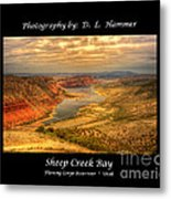Sheep Creek Bay Metal Print