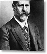 Sigmund Freud (1856-1939) Metal Print
