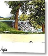 Silver Lake Mill -summer Metal Print