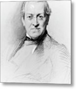 Sir Charles Wheatstone (1802-1875) Metal Print