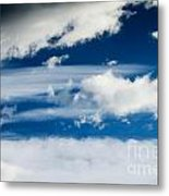Sky With Clouds Metal Print