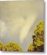 Skyscape - Tornado Formed Metal Print