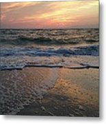 Slanted Setting 2 Metal Print by K Simmons Luna