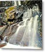 Smoky Mountain Falls Metal Print