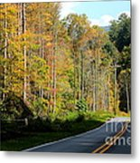 Smoky Mountain Road Trip Metal Print