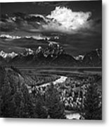 Snake River Overlook Metal Print by Andrew Soundarajan