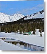 Snow Bound Metal Print