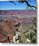 South Rim Of The Grand Canyon Metal Print