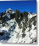 Southern Alps New Zealand Metal Print