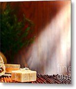 Spa Ambiance Metal Print by Olivier Le Queinec