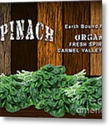 Spinach Patch Metal Print