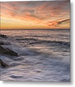 Spoon Bay Sunrise Metal Print by Steve Caldwell