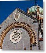 St. Augustine Florida Church Metal Print