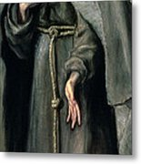 St Francis Of Assisi Metal Print