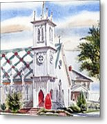 St Pauls Episcopal Church  Metal Print