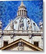 St Peter In Vatican Metal Print