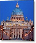 St Peter's Basilica Metal Print