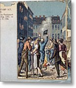 Stamp Act Riot, 1765 Metal Print
