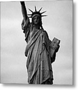 Statue Of Liberty National Monument Liberty Island New York City Metal Print