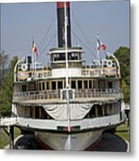 Steamboat Ticonderoga Metal Print