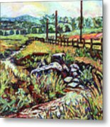 Stroubles Creek Metal Print