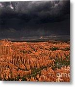 Summer Thunderstorm Bryce Canyon National Park Utah Metal Print