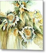 Sunflowers V Metal Print