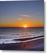 Sunrise Over Atlantic Ocean, Florida Metal Print