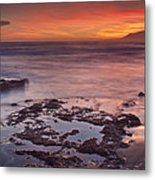 Sunset In Marbella Metal Print