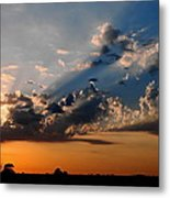 Sunset In Seaford Metal Print
