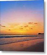 Sunset On Phiphi Island Metal Print