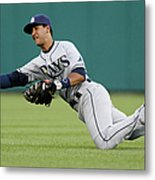 Tampa Bay Rays V Detroit Tigers 2 Metal Print
