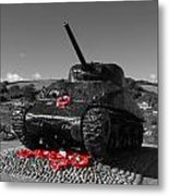 Tank Memorial Metal Print