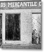 Taos Mercantile Metal Print