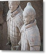 Terracotta Warriors, China Metal Print
